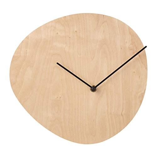 IKEA Snajdare 903.587.83 - Reloj de pared (28 cm), diseño de abedul