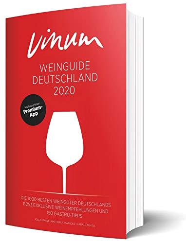 VINUM Weinguide Deutschland 2020. Der Reiseführer zu den besten Winzern Deutschlands. Rotwein, Weißwein, Sekt, Rosé? VINUM empfiehlt rund 11.000 deutsche Weine. Mit Premium-App.
