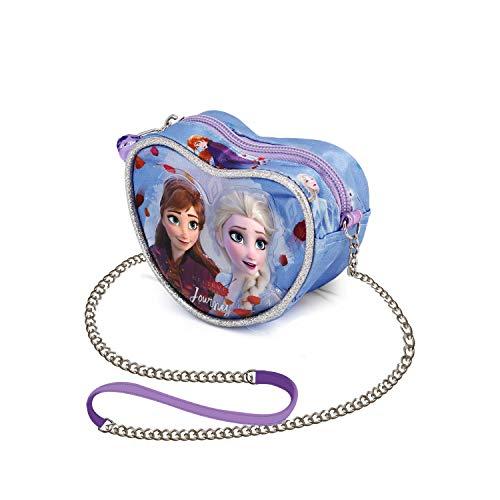 Karactermania Frozen 2 Journey - Bolso Corazón, Multicolor