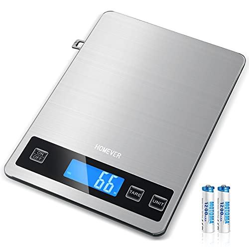 Bilancia Da Cucina Digitale, HOMEVER 15kg Bilancia...