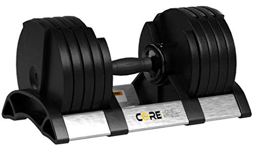 Core Fitness Adjustable Dumbbell Weight Set by Affordable - Import It All