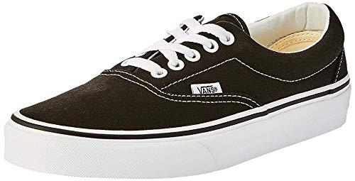 Vans Unisex-Erwachsene Era Classic Canvas Sneakers, Schwarz (Black BLK), 40 EU