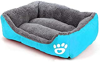 XL size Candy Color Square Kennel House Eco-friendly Dog Bed Mat Sofa Pets Beds For Various Dogs Supplies