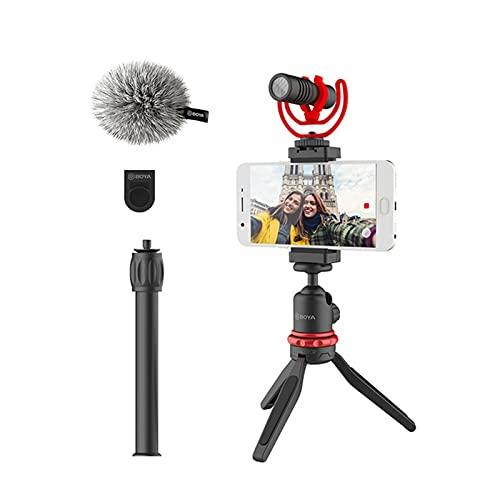 liuchenmaoyi mikrofon för att sjunga Micrófono de grabación de Video con Condensador con Clip Mic para tabletas Inteligente Cámara de camaras spelmikrofon (Color : Smartphone Mic Kit)