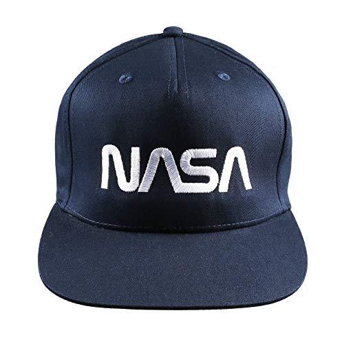 Nasa Space Station cap Cappellino da Baseball, Marina Francese, Taglia Unica Uomo