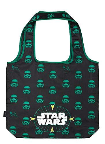 Baagl Faltbare Einkaufstasche Star Wars - Eco Wiederverwendbare Tasche - Umweltfreundliche Tragetasche für Lebensmittel