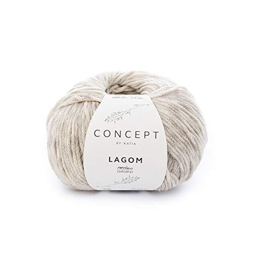 70 - 50 g // ca 102 m Wolle MERINO 100/% von Katia MORADO CLARO