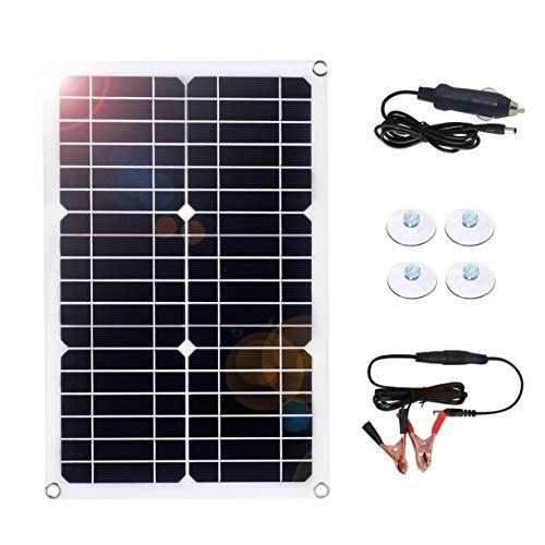 SARONIC Solar Battery Maintainer 18 Volt 18 Watt Solar Car Boat Power Panel Ladegerät Maintainer für Automotorrad
