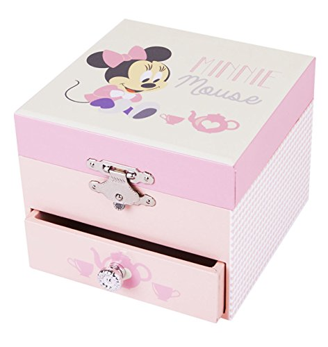 Trousselier Caja de música 20201 - Disney Motivo Minnie Cube Series (Caja de música, Caja de música, Cajas de música)