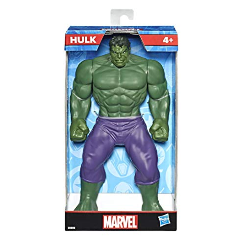 Hasbro Marvel E5555EU4 MVL 9.5IN Hulk Figure, Multicolour