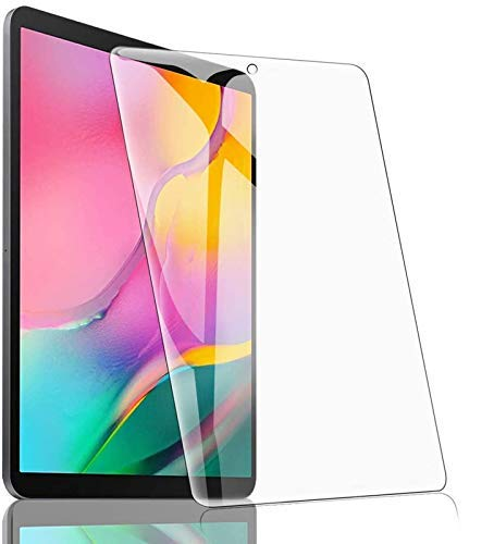 COVER CAPITAL Tempered Glass Screen Gurad Protector For Samsung Galaxy Tab A 2019 10.1 Inch (SM T510,T515) Transparent
