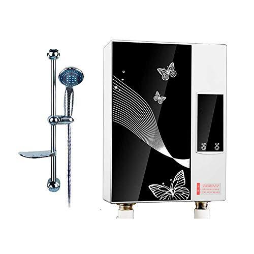 LQH Sicherheit Durchlauferhitzer, LCD Display Dusche Warmwasserbereiter Tankless Heizung for Badezimmer Home Küche