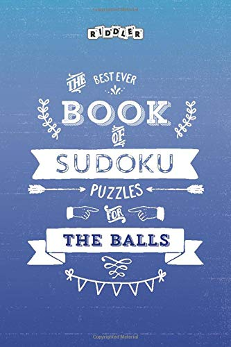 The Best Ever Book of Sudoku Puzzles for The Balls