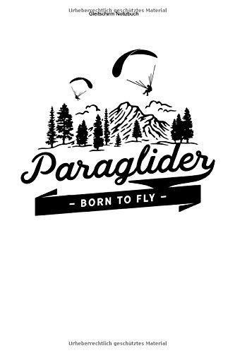 Gleitschirm Notizbuch: 100 Seiten | Kariert | Geschenk Team Tandem Paragliding Schirm Pilot Fliegen Gleit Gleiten Flugsport Flug Flieger Paragliden Glide Glider Paraglider