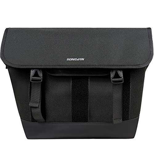 Messenger Bag for Men Women - Canvas 15.6 Inch Laptop Satchel Computer Briefcase Mens Crossbody Bag School Work Bag Backpack