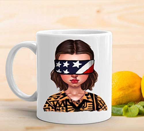 adaysusdetalles Taza Stranger Things,Taza Ceramica Desayuno Regalo Cumpleanos Sorpresa Taza Cafe