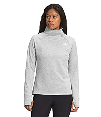 The North Face Women's Canyonlands ¼ Zip, TNF Light Grey Heather, 1X