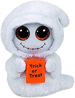 ILUTOY Ty Beanie Boos Stuffed & Plush Animals Mist The Halloween Ghost Toy Doll 15Cm U Must Have Friendship Gifts The Favourite DVD 5T Superhero Girls Unboxes