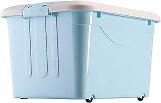 MOOLFN Boîte de Verrouillage en Plastique Multicolore, bac de Rangement en Plastique avec couvercles Organisateur empilabl...