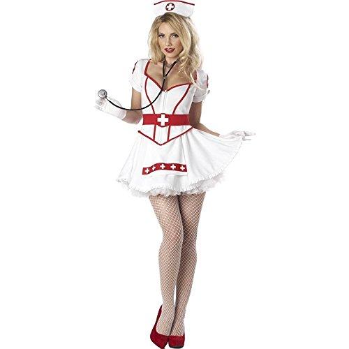 California Disfraz CS929636/L - Disfraz de Enfermera Sexy Talla L