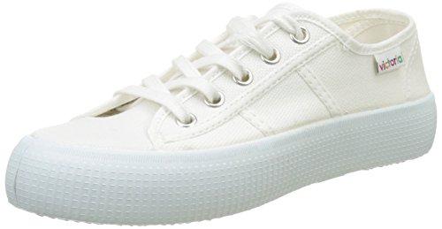 Victoria Basket Lona Gruesa, Zapatillas Mujer, Blanco, 39 EU