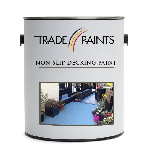 Garden Timber Decking Non Slip (Anti Slip) Paint (2.5 Litre, Mid Green...