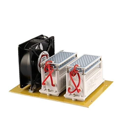 JIAN YA NA 220V 20G 20000mg / h Generatore di ozono Ceramico Purificatore d'aria Generatore di ozono Ozonizzatore