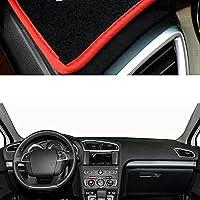 車のダッシュボードカバー、防塵・防塵ダッシュボードカバー、車内装飾、シトロエンC42011-2018に適合