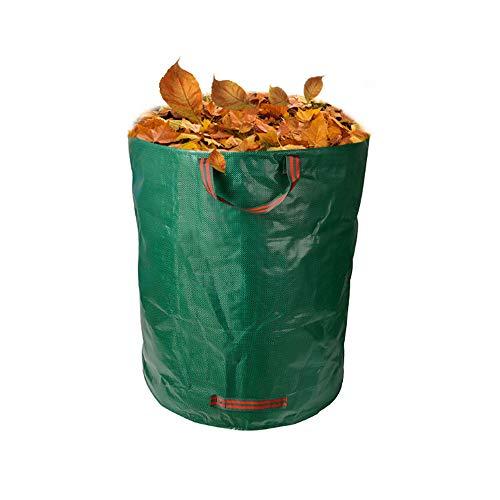 ZFW Lot de 2 sacs poubelle de jardin, sacs d'herbe Basket Leaf respectueux de l'environnement, en matériaux respectueux de l'environnement, sûrs et durables
