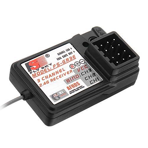 Tamlltide Flysky 2.4G 3CH FS-GR3E Empfänger für FS GT2 / GT2B / GT2F / GT3B / GT3C / T6 / CT6B / TH9A / TH9X Sender