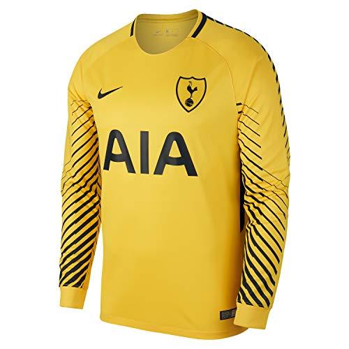 Nike 2017-2018 Tottenham Home Goalkeeper Shirt (Yellow)