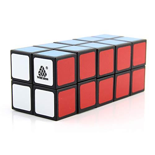 GUALA Speed Cube 2 * 2 * 4/2 * 2 * 5/2 * 2 * 6 Cubos Cuboides Negros Material Abs Creativo Brain Training Game Educación Juguete Juguete de descompresión clásico,B