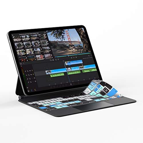 LumaFusion Tastatur-Abdeckung für iPad Pro 11 Zoll Magic Tastatur-Abdeckung | UK-Version | passt nicht für Smart Keyboard