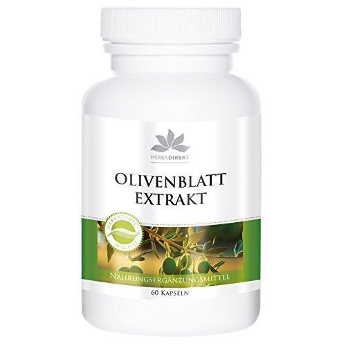 Extracto hoja olivo – Olea europaea – 100mg oleuropeína