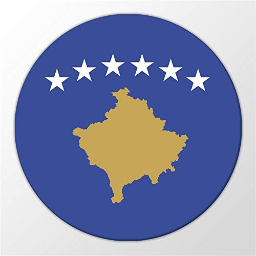 Kühlschrank Magnet Kosovo Flagge Republik Südosteuropa Magnettafel Whiteboard