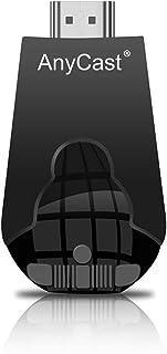 AnyCast K4-1 جهاز اتش دي لاسلكي لنقل ومشاركة الوسائط على شاشة التلفزيون متوافق مع اندرويد والأيفون و الويندوز