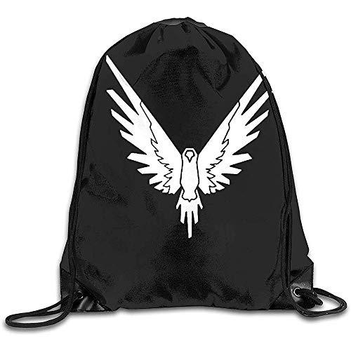 Not Applicable Draw Cord Bag,Drawstring Gym Backpack,String Pull Rucksack,Travel Shoulder Bag,Maverick Logang Collection Bulk Backpack,Storage Bag,Sport Sackpack,Lightweight Cinch Pack