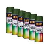 Kwasny 6X 324 106 Belton Spectral RAL 6011 - Pintura en espray (400 ml), Color Verde