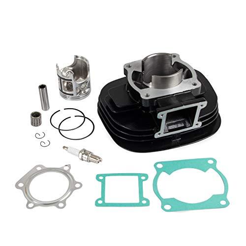Replace Part number 2XJ-11311-02-00 3JM-11351-02-00 66MM 195CC Top End Kit Cylinder Piston Gasket For 1988-2006 Yamaha Blaster 200 (For Yamaha Blaster 200)