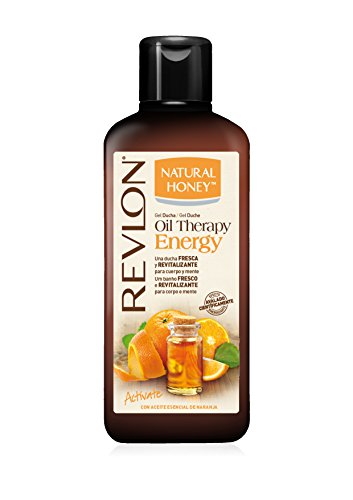 Natural Honey Oil Therapy Energy Aceite Esencial Naranja - 3 Recipientes de 650 ml - Total: 1950 ml
