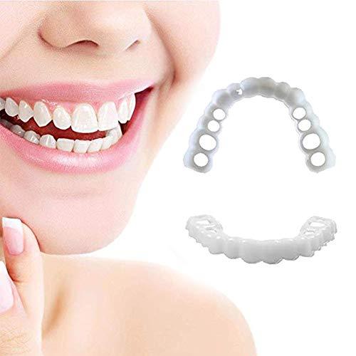 HBBYT Komfort Zähne Perfekte Smile Männer Frauen Sofort Lächeln Komfort Flex Passt Bleaching Falsche Zähne Abdeckung