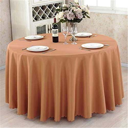 CHSDN Tischdecke Hotel Restaurant Konferenz Tischdecke Einfarbige Tischdecke Runder Tisch Rechteckige Couchtisch Tischdecke Hellbraun Rectangular Tablecloth 1.2m X1.8m