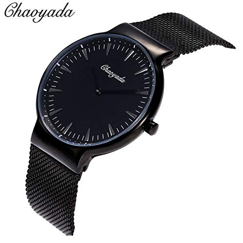 Quartz Watches - Chaoyada 2019 Ultra Thin Steel Mesh Belt Watch Fashion Casual Men Waterproof Dress Wristwatches - Silver Women Kids Charm Band Tester Design Necklace Dragon Parts Ladies Book