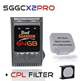 Street Guardian SGGCX2PRO+ 2021 Dash Camera with GPS, CPL & 64GB MicroSD Card