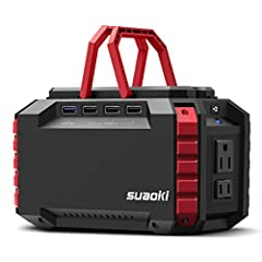 [BE COMPACT, BE EFFICIENT]: SUAOKI S270 is not only the most compact power station in the market, but also features as many output ports as possible, think of it, size of two coffee mugs hold 150wh capacity and 10 various outlet ports, how convenient...