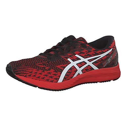 ASICS Mens Gel-DS Trainer 25 Running Shoe, Fiery Red/White, 44.5 EU