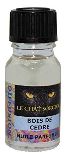 Le Chat Sorcier - Huile Parfumée - Bois de Cèdre (10ml)