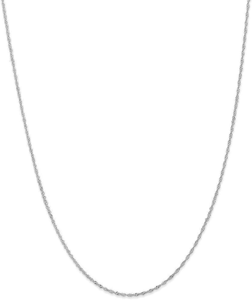タイムセール 14k 超歓迎された Singapore Chain Necklace Jewelry Gifts in Rose Women Gol for