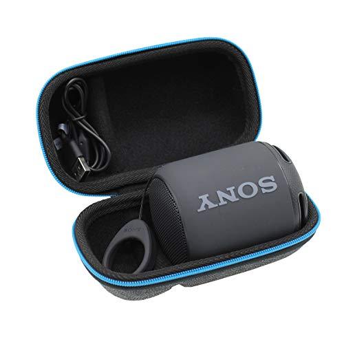 ESCOCO Voyage Stockage Porter Étui Housse pour Sony SRS-XB10B/SRS-XB12 Enceinte Portable compacte sans Fil Bluetooth