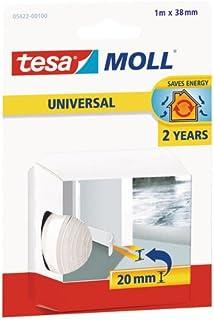 tesa 德莎 德国进口 摩尔万用型门底用嵌缝泡沫密封条 尺寸为1m*38mm 白色